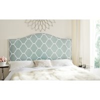 Safavieh Connie Classic Upholstered Headboard with Nail Heads