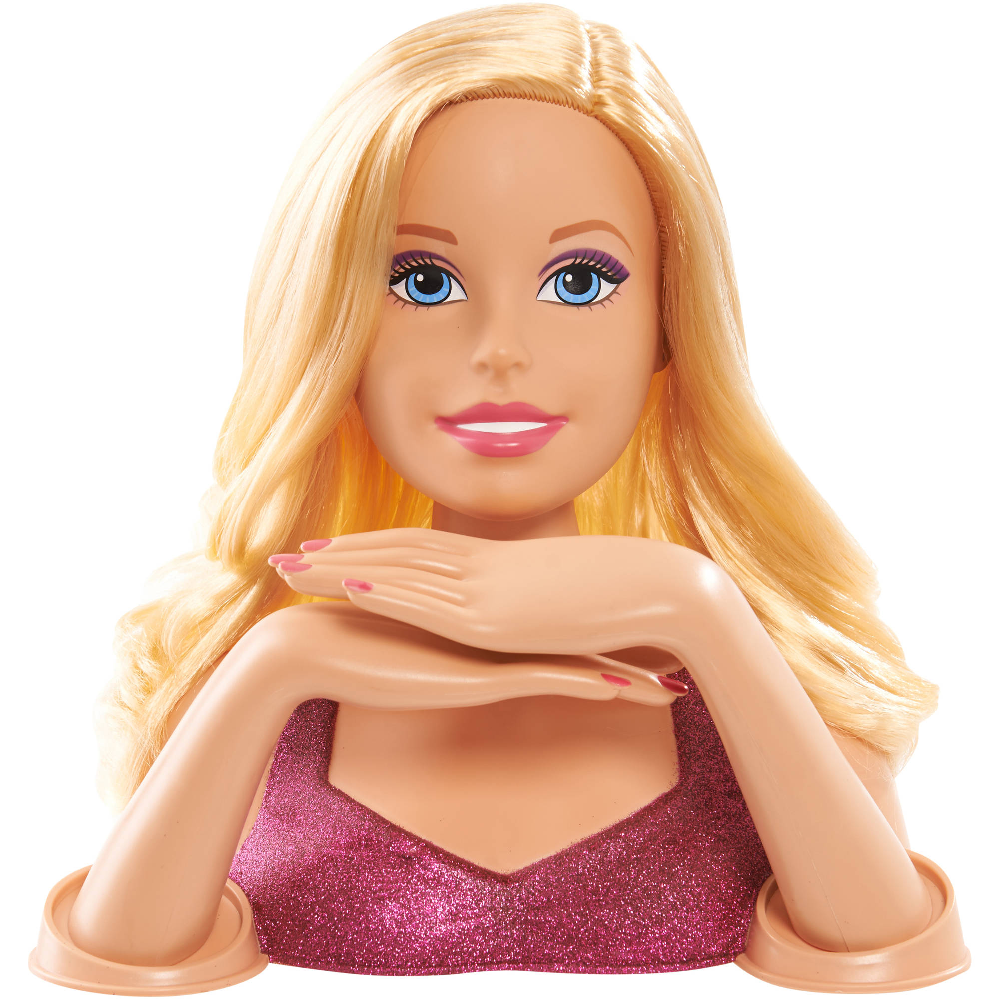 barbie crimp and style