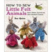 Search Press Books-How To Sew Little Felt Animals