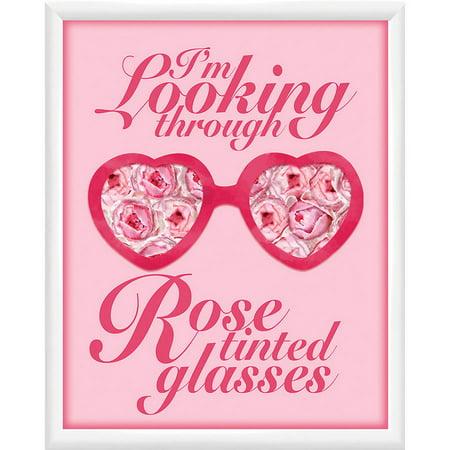 Rose Tinted Glasses Wall Art, 18