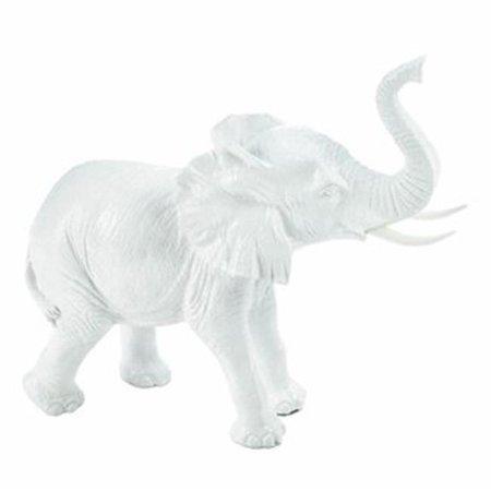White Elephant Figurine -