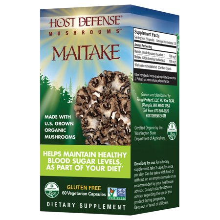 Maitake Defense (Host Defense Maitake (Grifola Frondosa) Capsules 60 Count )