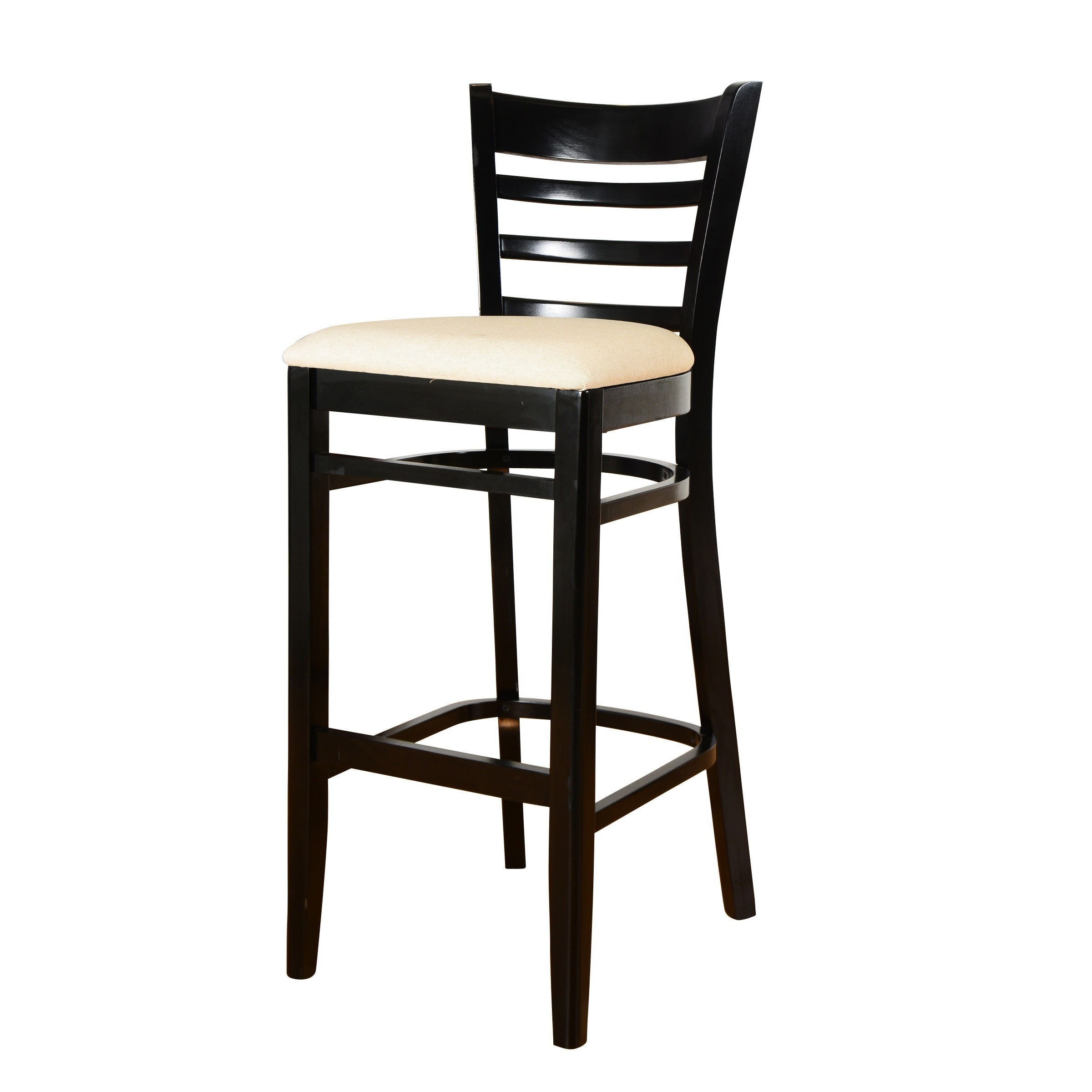 Beechwood Mountain Ladderback Bar Stool by Overstock