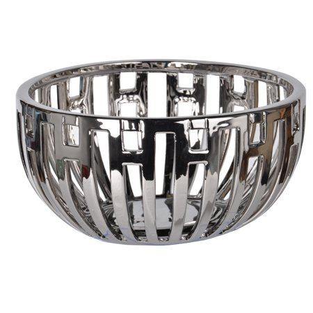 A&B Home Anthony Venetucci Metallic Centerpiece Bowl ()