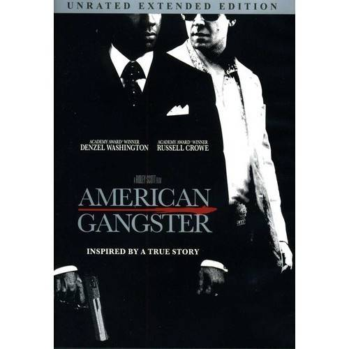 AMERICAN GANGSTER-SINGLE DISC (UNRATED/EXTENDED)