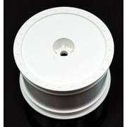 BORREGO BUGGY WHEELS - KYOSHO RB5 / ZX-5 / REAR / WHITE DERBBKRW Multi-Colored