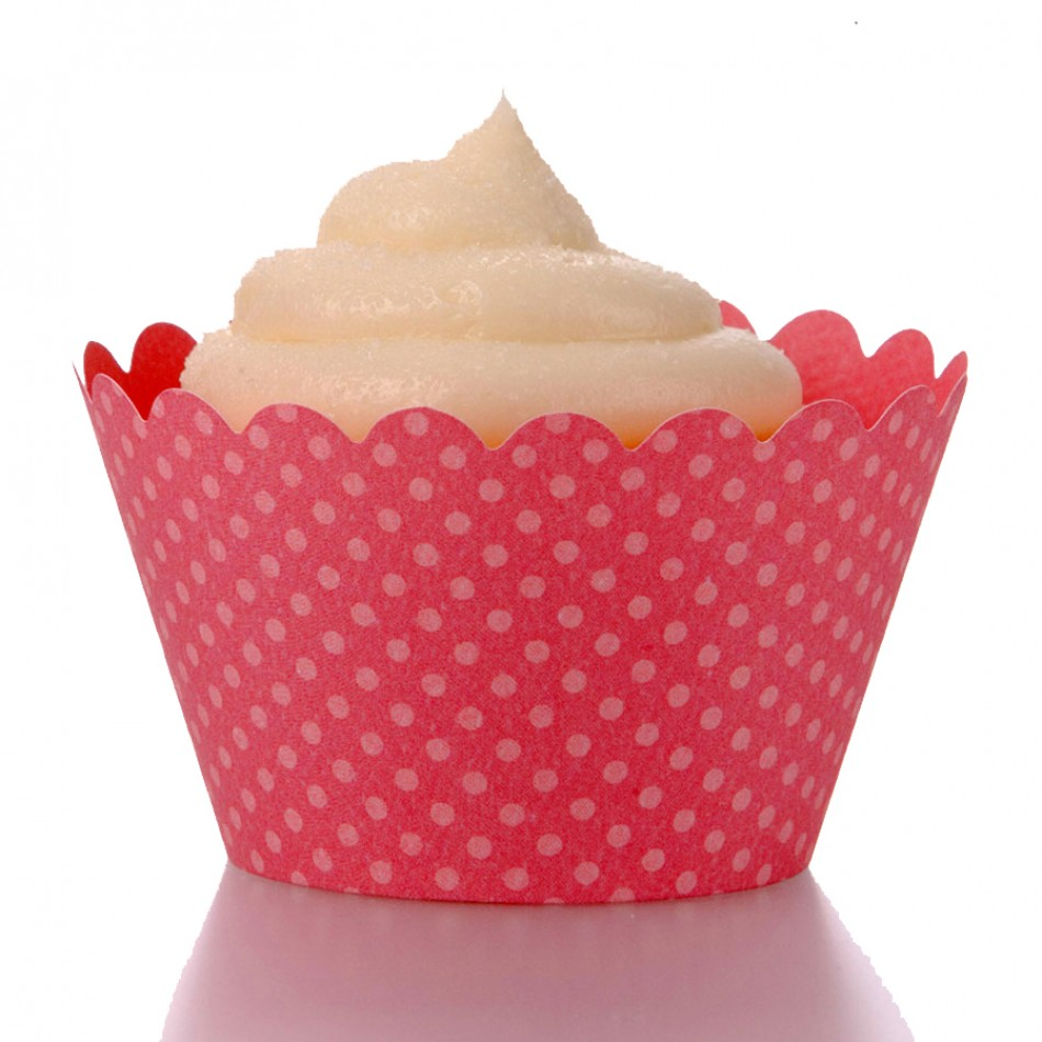 Dress My Cupcake Standard Blush Pink Cupcake Wrappers, Set of 12