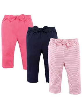 Toddler Girl Pants, 3-Pack