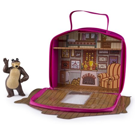 Masha and the Bear - Bear's House - Vinyl Bag (Masha And The Bear Halloween Costume)