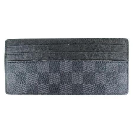 Louis Vuitton Damier Graphite Long Card Case 901LT9