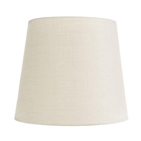 White Silk 4 Inch Retro Drum Clip On Chandelier Lampshade