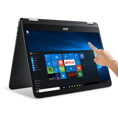 "Manufacturer Refurbished Acer Spin SP714-51-M024 Laptop 14"" Intel Core i7-7Y75 Dual-Core 1.3GHz,8GB Ram, 256GB SSD w/ Windows 10 Home"