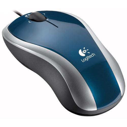 Logitech LX3 Optical Mouse Blue--Special Edition