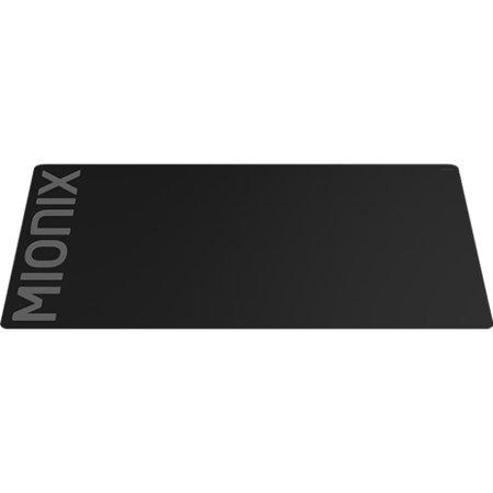 Mionix Alioth Soft Mousepad With Stitched Edges   18 1  X 15 7  Dimension   Woven  Cloth  Microfiber  Natural Rubber B