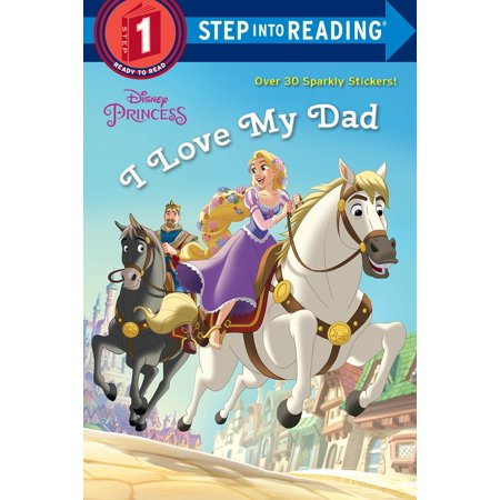 I Love My Dad (Disney Princess) (Paperback)
