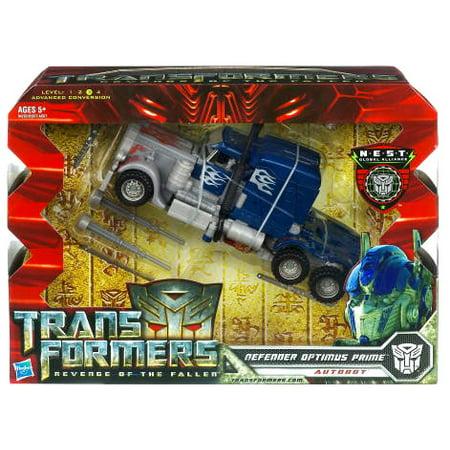 Transformers Revenge of the Fallen Defender Optimus Prime Action