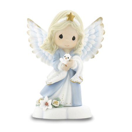 Precious Moments Radiance Of Heaven's Light Angel Figurine (4.2x3.23inch)