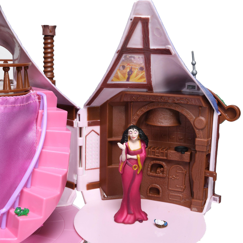 Disney Tangled Rapunzel Tree House Playset Dollhouse With 11 Play Pieces Walmart Com Walmart Com