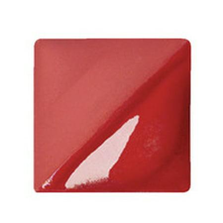 AMACO Velvet Semi-Translucent Underglaze, 1 Pint, Multple Colors (Red Velvet Underglaze)
