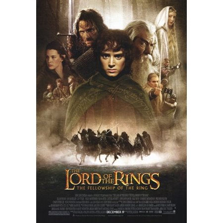 - Lord of the Rings 1 The Fellowship of the Ring Movie Poster Print (27 x 40)