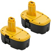 Replacement Dewalt DC9096 / DW9096 / DW9098 18V Battery - 1500mAh (2 Pack)