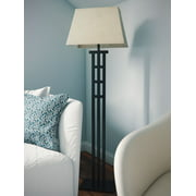 Kenroy Home Tall Mission Inspired Floor Lamp, 58 Inch Height, Bronze Finish, 17 Inch Wide Rectangular Shade, 3-Way Bulb Switch