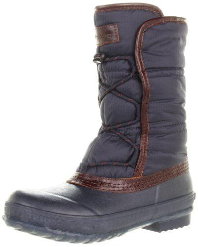 Tretorn Women's Snolega Rain Boot,Navy Blue,35 EU 4 B US by Tretorn USA/PUMA North America Inc