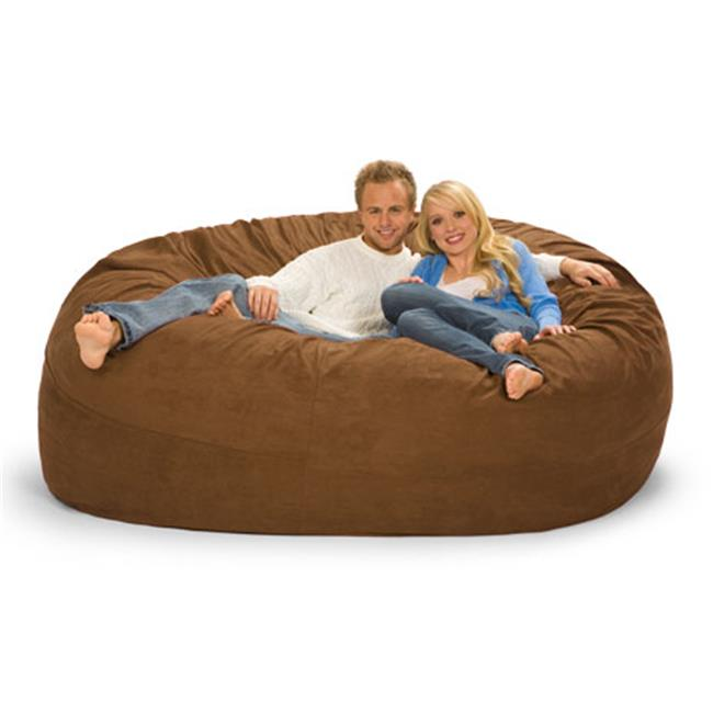 RelaxSacks 7DM-MS003 7 ft. Round Relax Sack - Microsuede Earth