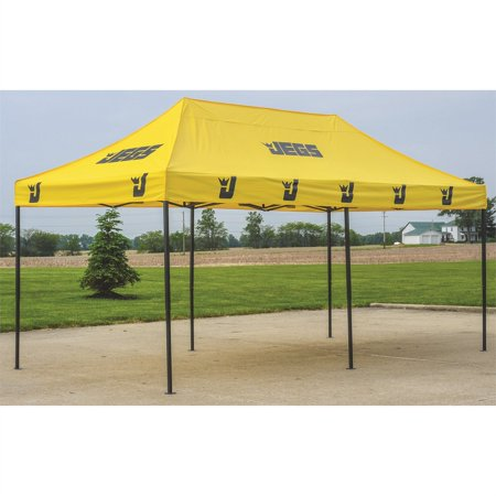 JEGS 2010 Instant-Up Canopy 10 ft. by 20 ft. Yellow With JEGS (High Peak Canopy)