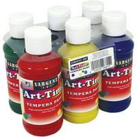 Sargent Art Assorted Colors Tempera Paint, 1 Each