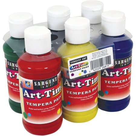 Sargent Art Assorted Colors Tempera Paint, 1 Each](Kids Face Paints For Halloween)