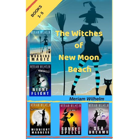 The Witches Of New Moon Beach Boxed Set - eBook