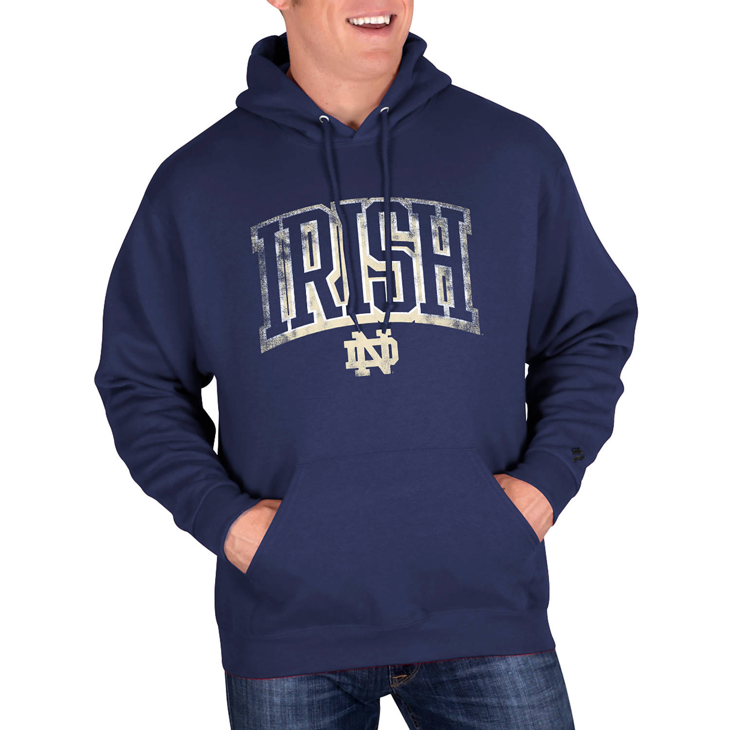 NCAA Notre Dame Fighting Irish Mens Classic-Fit Pullover Hood