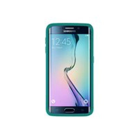 reputable site 84c7a 62e35 OtterBox Symmetry Series Samsung GALAXY S6 edge - Back cover for cell phone  - polycarbonate, synthetic rubber - aqua sky - for Samsung Galaxy S6 edge