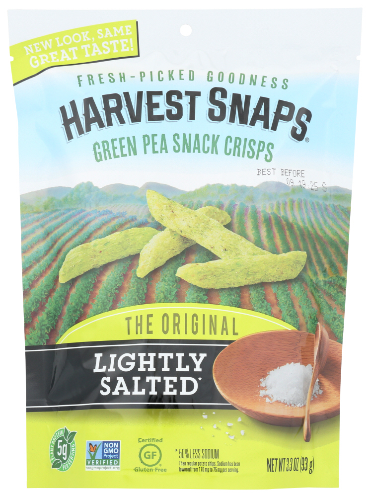 Harvest Snaps Lightly Salted Snap Pea