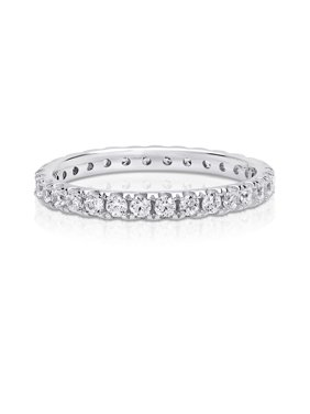 2e1e34431 Product Image Cubic Zirconia Eternity Ring made with Zirconia from Swarovski