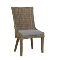 Matisse Country Woven Dining Chair, Set of Two