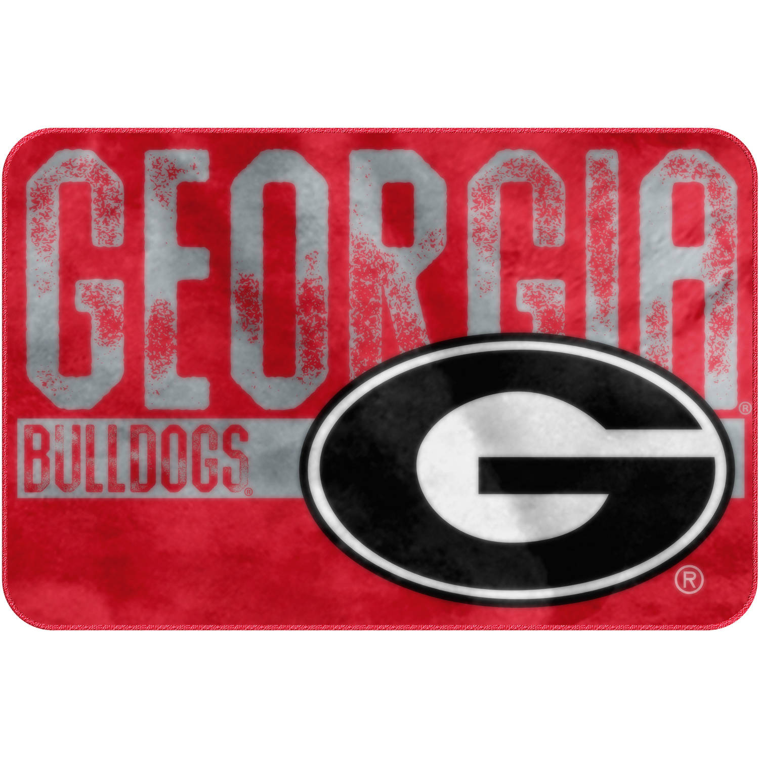 "NCAA Georgia Bulldogs 20"" x 30"" ""Worn Out"" Mat, 1 Each"