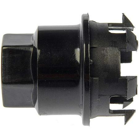 Black Wheel Nut Cover M24-2.0 Mod, Hex 19mm Dorman # 611-627.1 Wheel Nut Cover