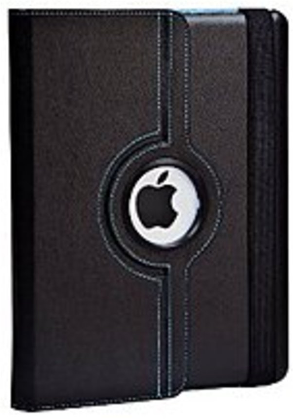 Targus Versavu THZ045US 360 deg. Rotating Case And Stand for iPad 2 Black Blue Interior by Targus