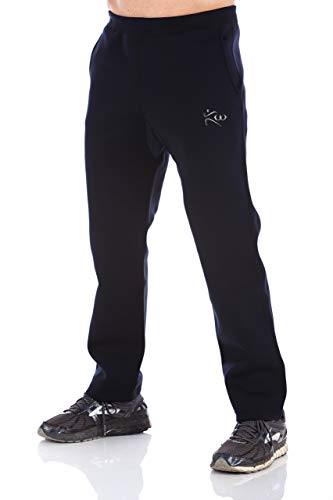 Kutting Weight Sauna Suit Weight Loss Neoprene Black Workout Pants with Pockets