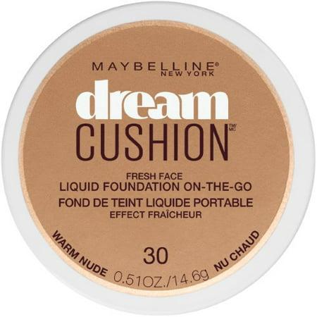 Maybelline New York Dream Cushion Fresh Face Liquid Foundation (Pack of