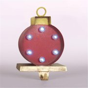 Glitzhome Marquee LED Ornament Stocking Holder