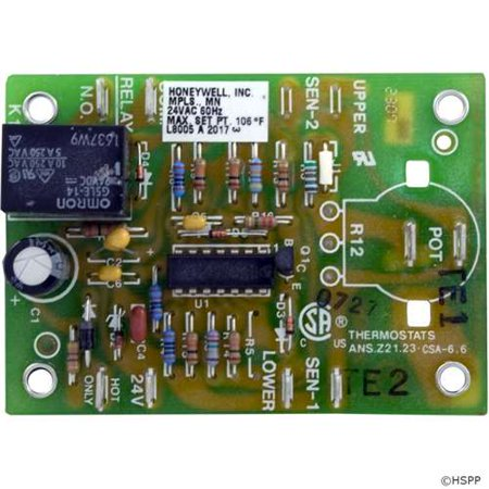 Pentair Purex PCB, Minimax, Electronic Thermostat Part # (Minimax Thermostat)