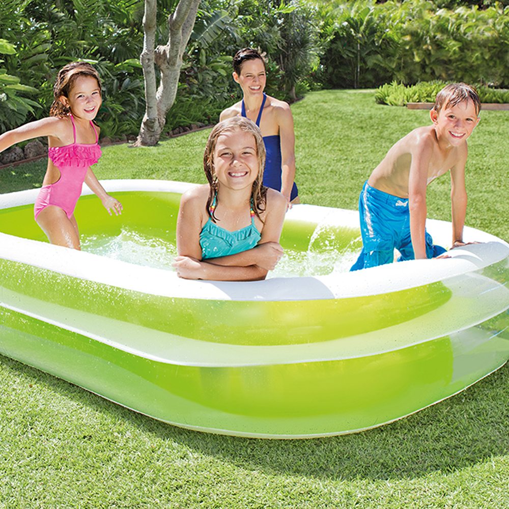 "Intex Inflatable Swim Center Family Lounge Pool, 103"" x 69"" x 22"""