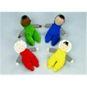 Childrens Factory Multi-Ethnic Baby Doll, Set - 8