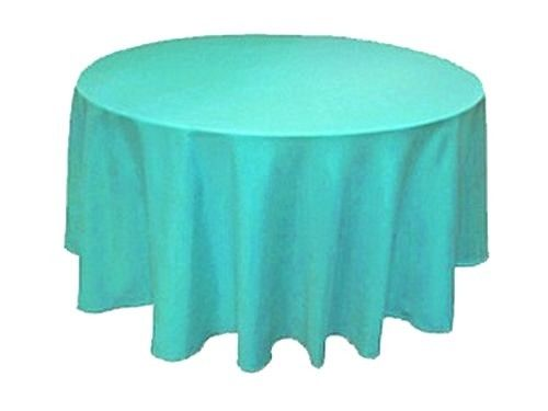 "15 Pack 132/"" Inch round Polyester Tablecloth 24 COLOR Table Cover Wedding Party"