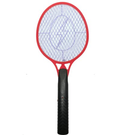 Insect Swatter (KORAMZI F-5 Electric Mosquito Swatter For Indoor And Outdoor Insect Control (Red))
