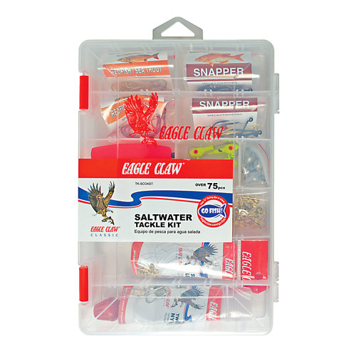 Eagle Claw Salt Water Tackle Kit