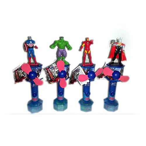 Marvel Avengers Candy Fans - Gift Bundle [4 Piece]